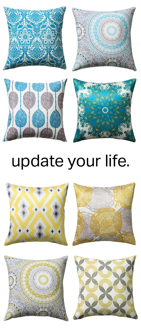 Find Fresh Decor Pillow Covers For Any Style And Update Your Look!  Decorative ...