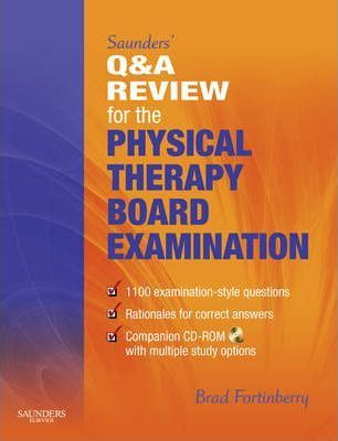 Saunders' Q and A Review for the Physical Therapy Board Examination -Free worldwide shipping of 6 million discounted books by Singapore Online Bookstore http://sgbookstore.dyndns.org
