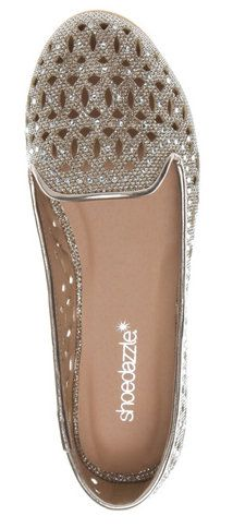 #sparkly flats