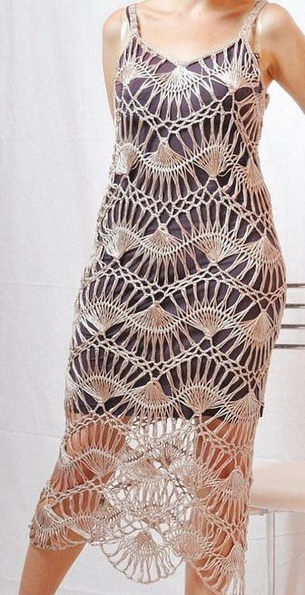 Hairpin Lace Dress