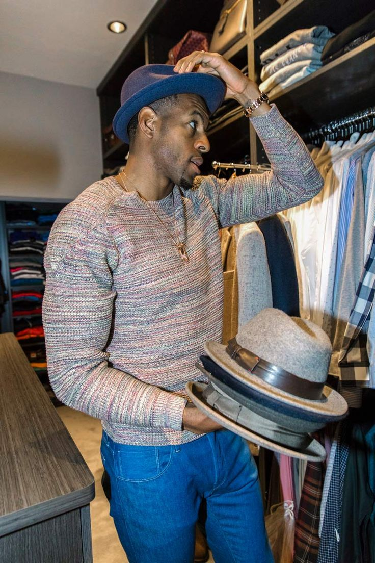 Andre Iguodala, the Warriors' Indispensable Sixth Man and Tech Investor Shares His Style Strategy During B/R Mag's All-Access Tour of His Closet