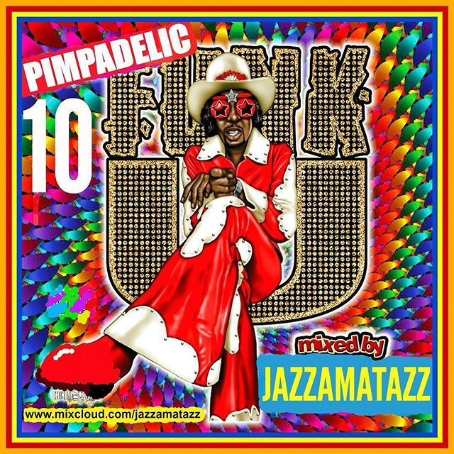 Bombshell Radio  Jazzamatazz Double Header Today 2pm-4pm EST 8pm -10pm BST 11am-1pm PDT bombshellradio.com  Vol.10 in the Pimpadelic Funk series  A cruise in SuperFly's pimpwagon a jive at Dolemite's disco or a pimp limp to Huggy Bear's joint.  Let music fuel the imagination!  20 tracks. Get funked up :) #Funk #Soul #Groove #Rhythm&Blues #Funky #OldSchool #JazzFunk  1  Magic Mountain  War 2  Sexy Woman  Timmy Thomas 3  Aint No Love In The Heart Of The City  Bobby Bland 4  Funky Black Man…