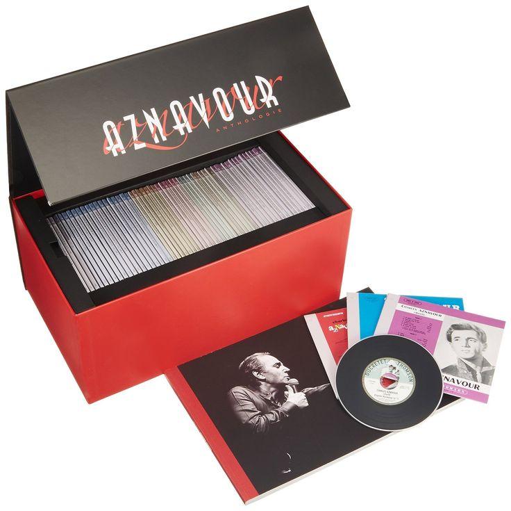 Anthologie Coffret 60 CD -Tirage limité et numéroté: Charles Aznavour: Amazon.fr: Musique
