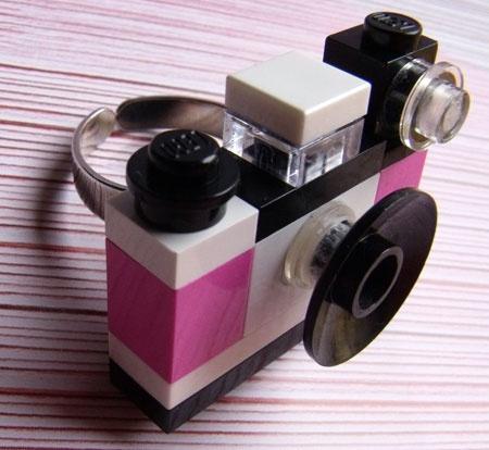 Anello fatto con Lego