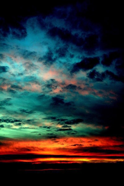dusk, into the night ~