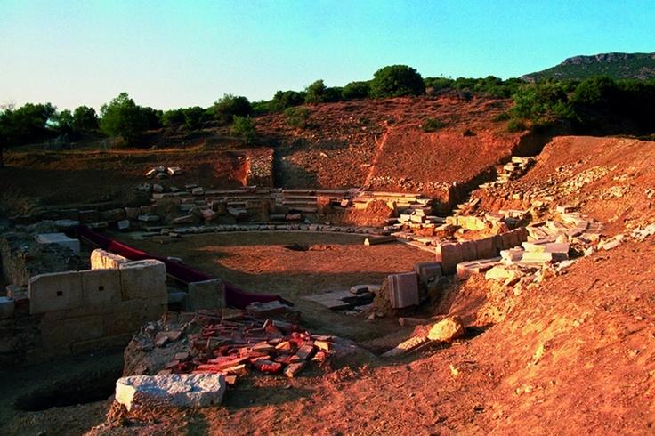 Maronia. Ancient theater. Rodopi