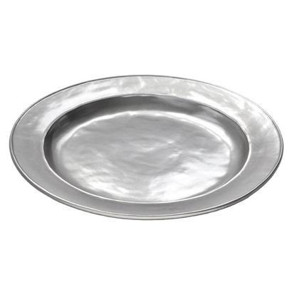 "Juliska Pewter Large Platter, 16.5""W  178"