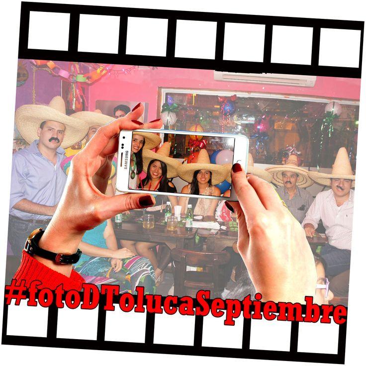 ¡Arranca #FotoDTolucaSeptiembre !!! Inspírate tomando buenas fotos, disfruta DToluca y llévate los premios ¿Ya comenzaste? #MexicoEnCali