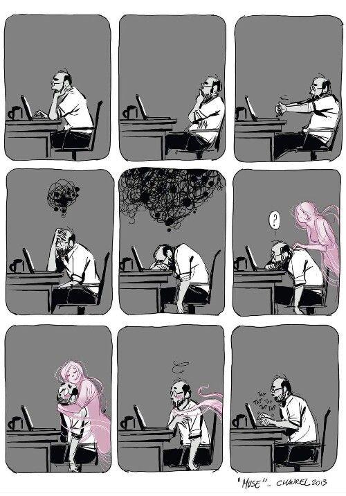 vita da scrittore...