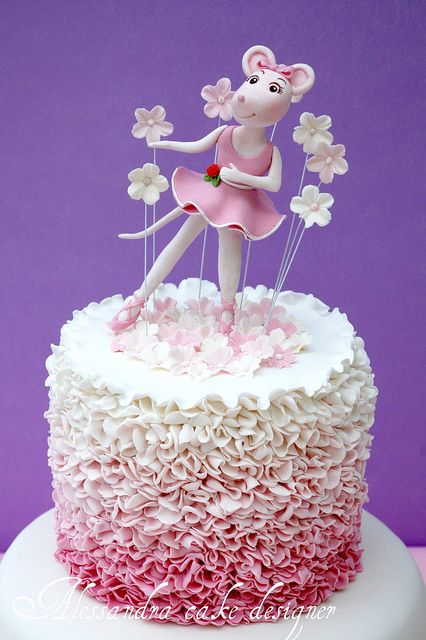 45 best images about angelina ballerina birthday cake on for Angelina ballerina edible cake topper decoration sale