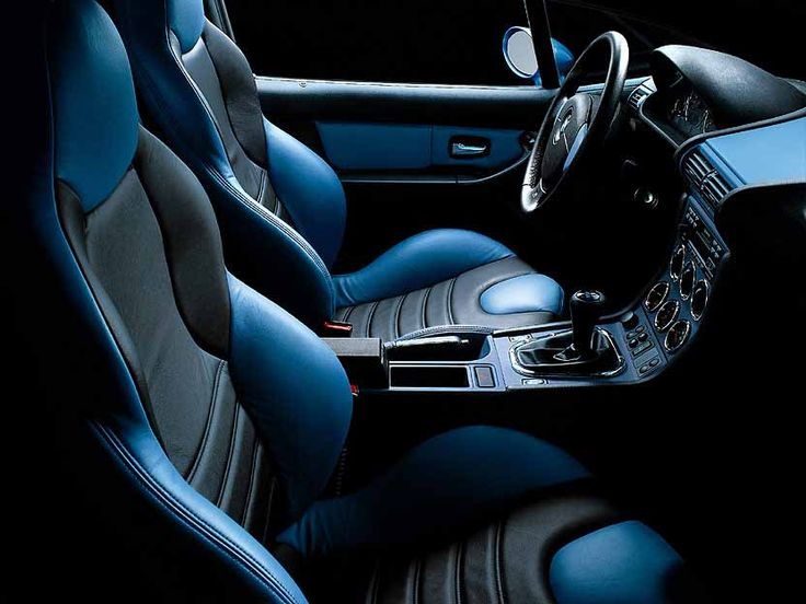 BMW Z3 M Coupe interior