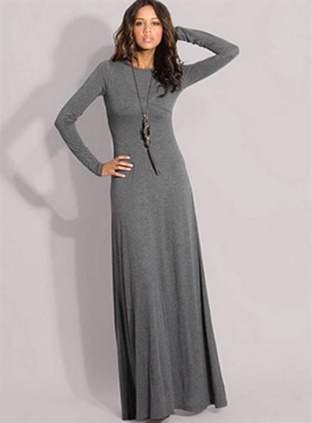 Cool Long maxi dresses with sleeves Review