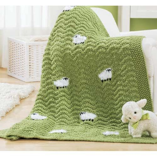 """if my boy were 9 months old instead of 19 years old, I'd make this blanket for him, as he was my little """"lamb"""""""