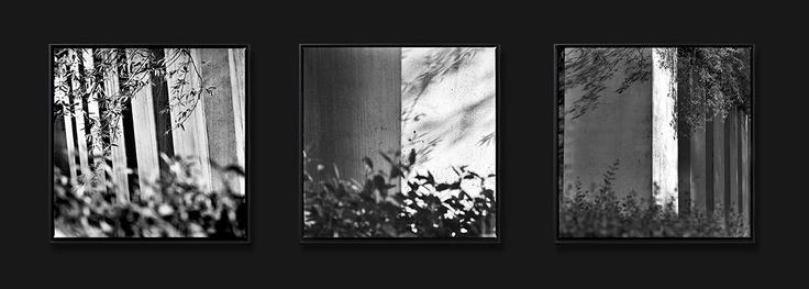 #1108, Jewish Museum, trittico, Berlino, 2011  Stampa ai pigmenti di carbone su carta cotone, certificata Fine Art Gliclée - Tiratura: 5 es. + 2 p.a.