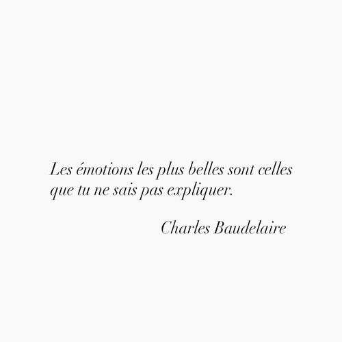 Image de baudelaire, french, and quote