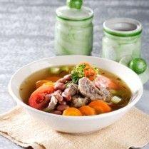 SOP DAGING KACANG MERAH http://www.sajiansedap.com/mobile/detail/16061/sop-daging-kacang-merah