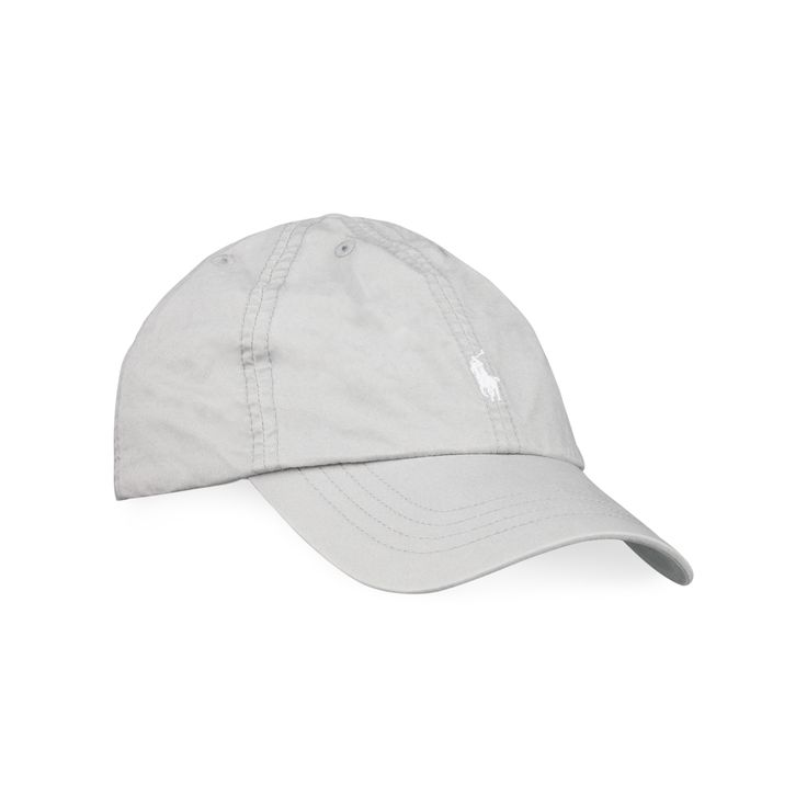 RALPH LAUREN Boys Logo Cap - Grey Ralph Lauren boys cap constructed from soft cotton twill, neatly finished with the signature pony logo embroidery.