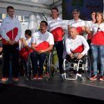 Paralympic Games - Team Belgium | Rio 2016 - Basile Meunier (Athlétisme), Tim Celen (Cyclisme sur route), Diederick Schelfhout (Cyclisme sur route), Joyce Lefevre (Athlétisme) & Yannick Vandeput (Natation)