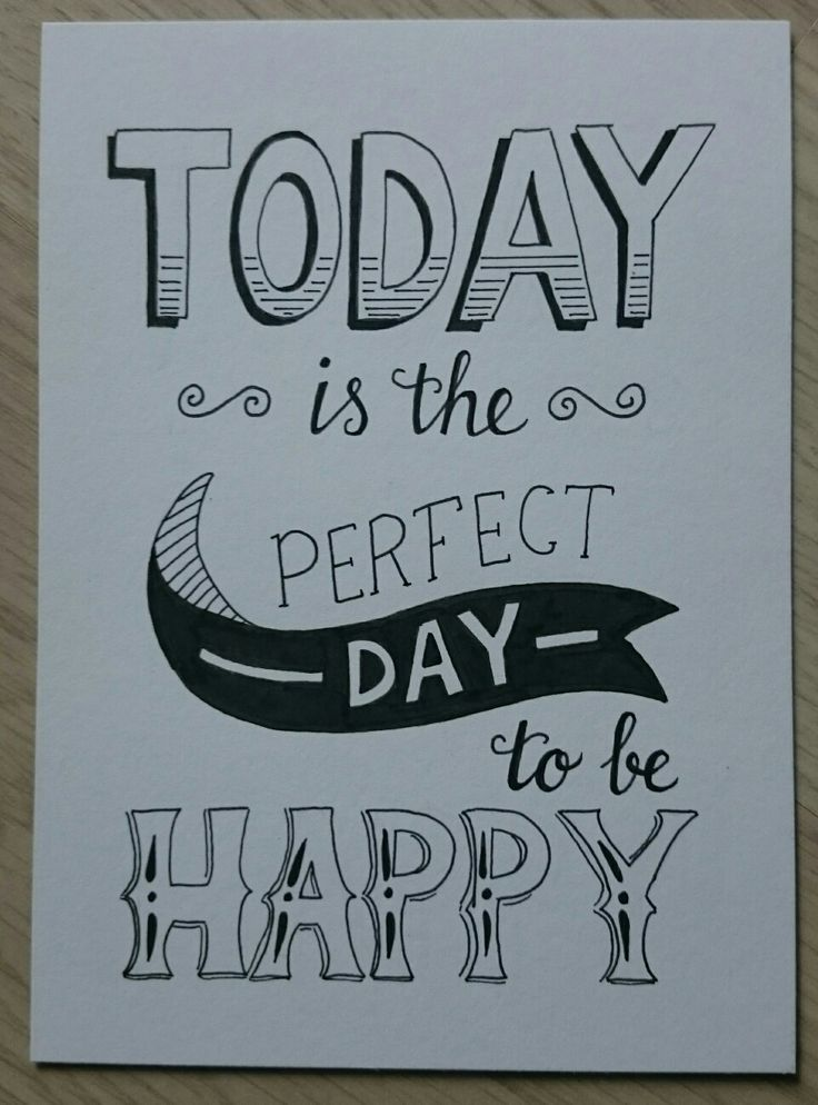 Perfect day to be happy