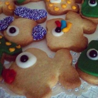 vis-koekje