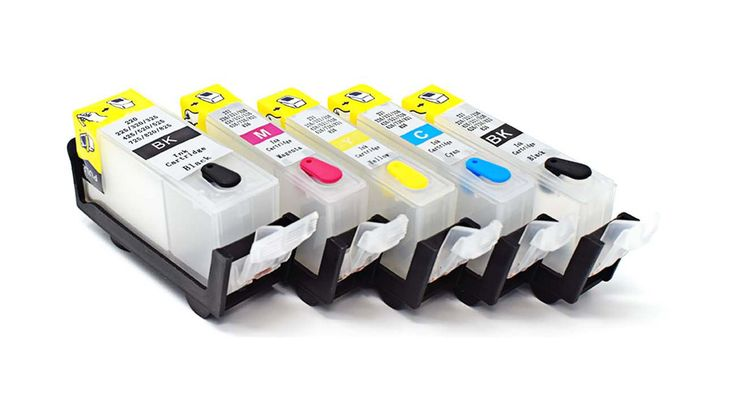 Canon NON OEM refillable ink cartridges for cannon printer models IP4850 IP4950 MG5150 MG5250 MG5350 MG8150 MG8250 Non Oem