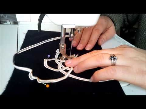 Tutorial - how to apply military style braiding on a machine - YouTube
