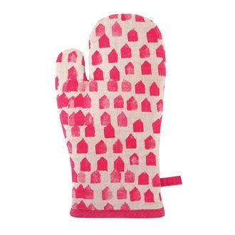 KITCHEN/TABLE LINENS - Floragraphica Single Oven Glove - Kerridge Linens & More