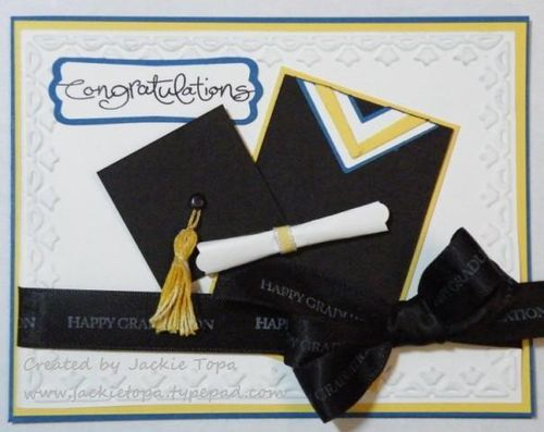 graduation cap paper punch Paper crafts sewing ideas graduation banner easy to stack the circles in fives using the 1/16-inch hole punch.
