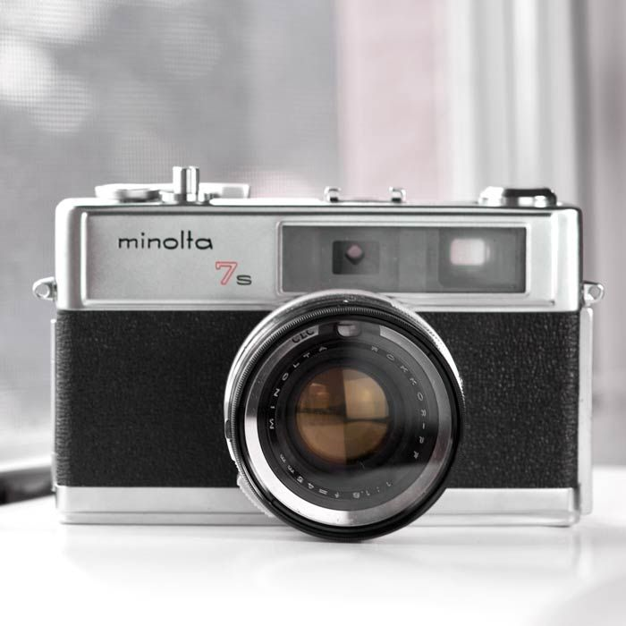 cameras for sale - Minolta | MINOLTA HI-MATIC 7S rangefinder camera - vintage camera - 35mm camera