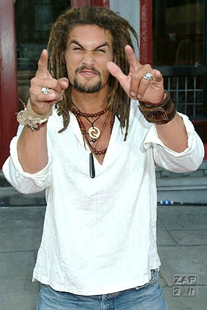 bohemian mens fashion | Jason Momoa