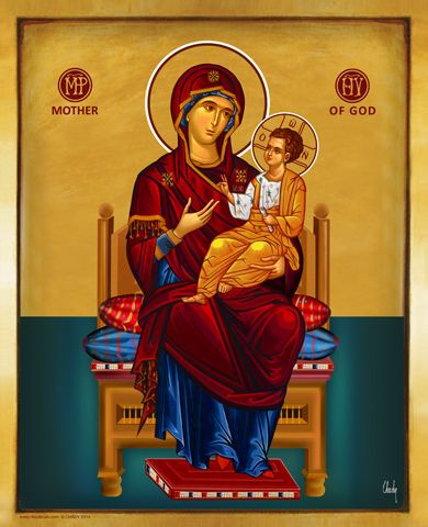 HolyBrush.com - Mother of God on the throne, $34.95 (http://www.holybrush.com/mother-of-god-on-the-throne/)