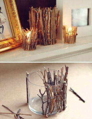 Kreative Idee, einen Kerzenhalter #ad herzustellen  #einen #herzustellen #kerzen…