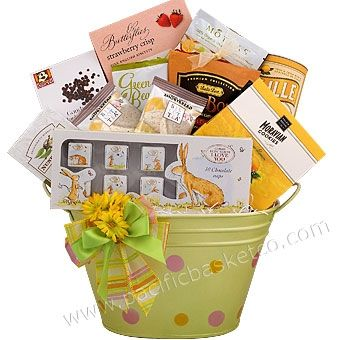 22 best special occasion gifts images on pinterest special springtime easter gift basket negle Images
