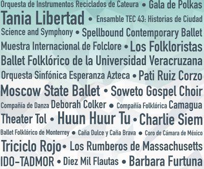 eventos festival santa lucia 2016 monterrey