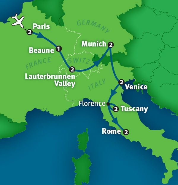 European Vacation Package: The Best of Europe in 14 Days | Rick Steves 2015 Tours | ricksteves.com