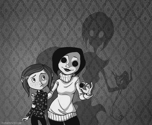 Coraline! Love the book, the movie, and the music from the movie!  Fantastic.