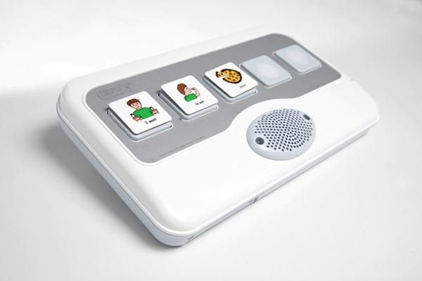 The Logan® ProxTalker® is the most advanced and adaptable recorded speech communication device available. It uses RFID (radio frequency identification) technolo
