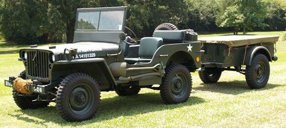 Marcus Ellis 1942 Willys MB Jeep