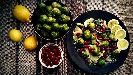 Seasons in a jar: Σαλάτα χειμερινή με βρασμένα λαχανικά