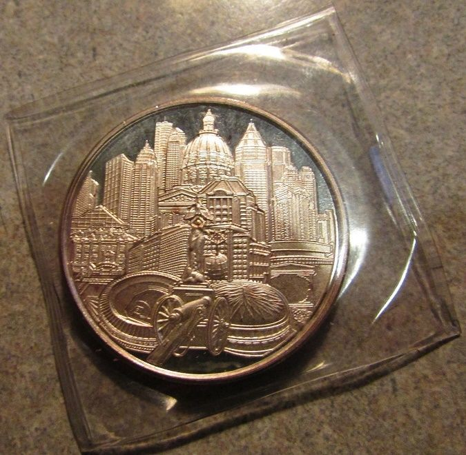 1996 usa olympic basketball #atlanta ga 1 troy oz 999 fine #silver #round - georg,  View more on the LINK: http://www.zeppy.io/product/gb/2/371686965418/