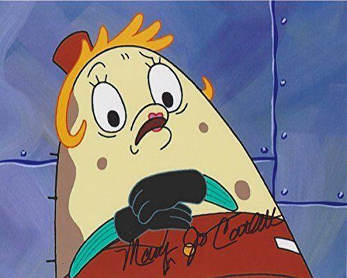 Mary Jo Catlett SpongeBob SquarePants Original 8X10 Autographed Photo w/COA @ niftywarehouse.com #NiftyWarehouse #Spongebob #SpongebobSquarepants #Cartoon #TV #Show