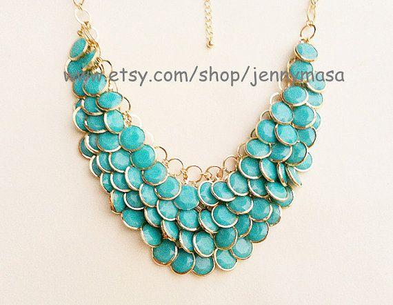 Turquoise necklace Etsy