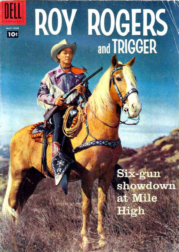 Foaled in 1932, the part-Throroughbred palomino steed met his destiny when Roy Rogers began preparing for his first starring movie role. Asked to choose his onscreen partner from among five horses, Rogers selected Golden Cloud. The singing star promptly renamed him Trigger