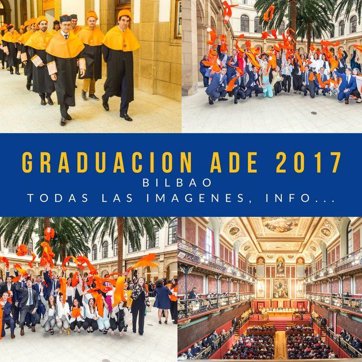 El sábado 14 de abril ha sido la fecha elegida para celebrar la Ceremonia de Graduación de ADE 2017 – Campus Bilbao, en el Paraninfo de la Universidad de Deusto.