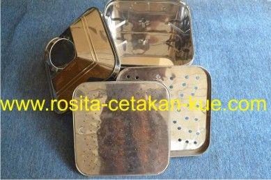 KLAKAT STAINLESS STEEL » KLAKAT KOTAK STAINLESS STEEL • www.rosita-cetakan-kue.com