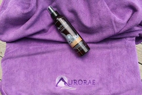 Aurorae microfiber swim towel & aromatherapy spray giveaway... sweepstakes IFTTT reddit giveaways freebies contests