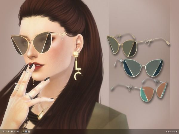 The Sims Resource: Sirheo Sunglasses by toksik • Sims 4 Downloads