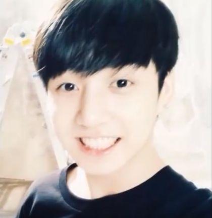 #Kookie #Jungkook #Smile #bts
