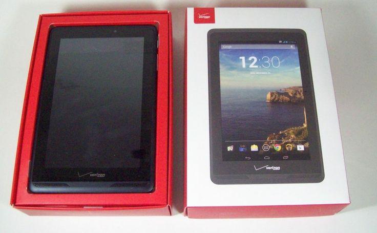 "Verizon Ellipsis 7"" Tablet 4G LTE Wifi Clean Esn"
