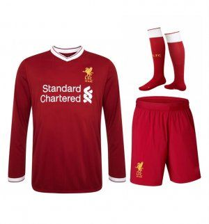 2017 Cheap Kit Liverpool FC Home LS Replica Full Suit [AFC355]